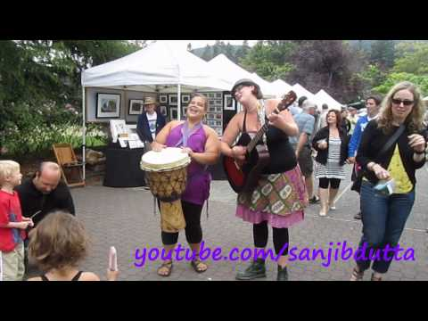 Salt Spring Island Saturday Market & Ganges Harbour