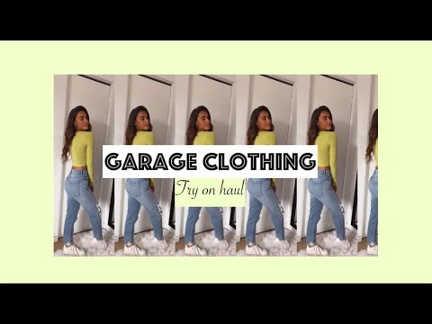 GARAGE CLOTHING - TRY ON HAUL 🦋💛🔥🌸