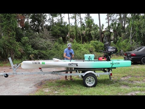 Bote Rover fishing setup and review