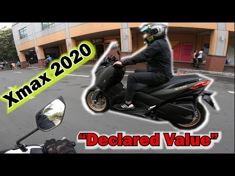 Brand New XMAX 2020 Declared Value