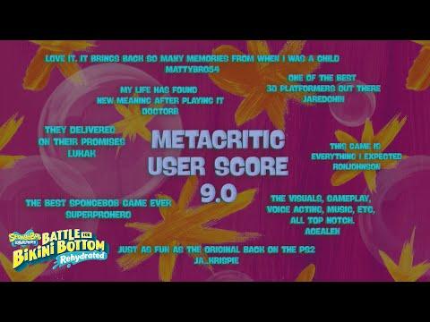 SpongeBob SquarePants: Battle for Bikini Bottom - Rehydrated - Accolades Trailer