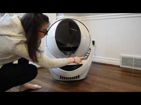Litter-Robot Open Air: Stops Mid-Cycle