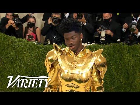 Watch Lil Nas X's 3 Fashion Transformations at 2021 Met Gala