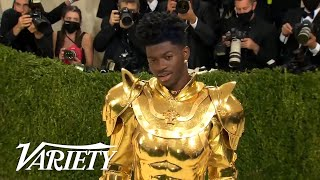 Watch Lil Nas X's 3 Fashion Transformations at the 2021 Met Gala