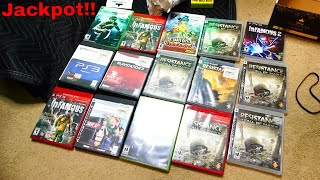 VIDEO GAME JACKPOT!!! Gamestop Dumpster Diving