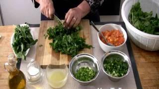 Arugula Salad Recipe - Raw Foods Salad Recipes