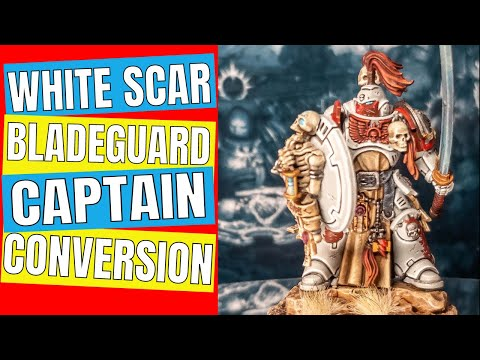 How-to: Convert White Scar Blade Guard Captain