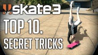 Skate 3 - T๐p 10. Secret Tricks + Tutorial
