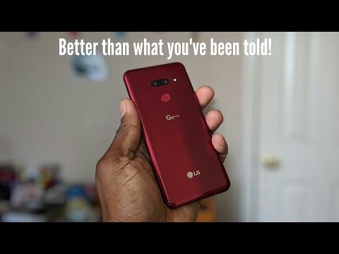 LG G8 UNBOXING & FIRST IMPRESSIONS