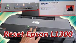 Reset Epson L1300 | Printer Bl…