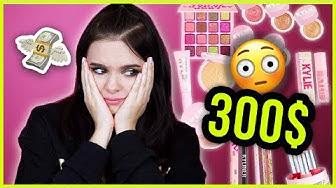 Die TEUERSTE Kylie Cosmetics Kollektion EVER! 😵Kylie Birthday Collection First Impressions!