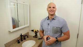 How to Install a Bathroom Mirror