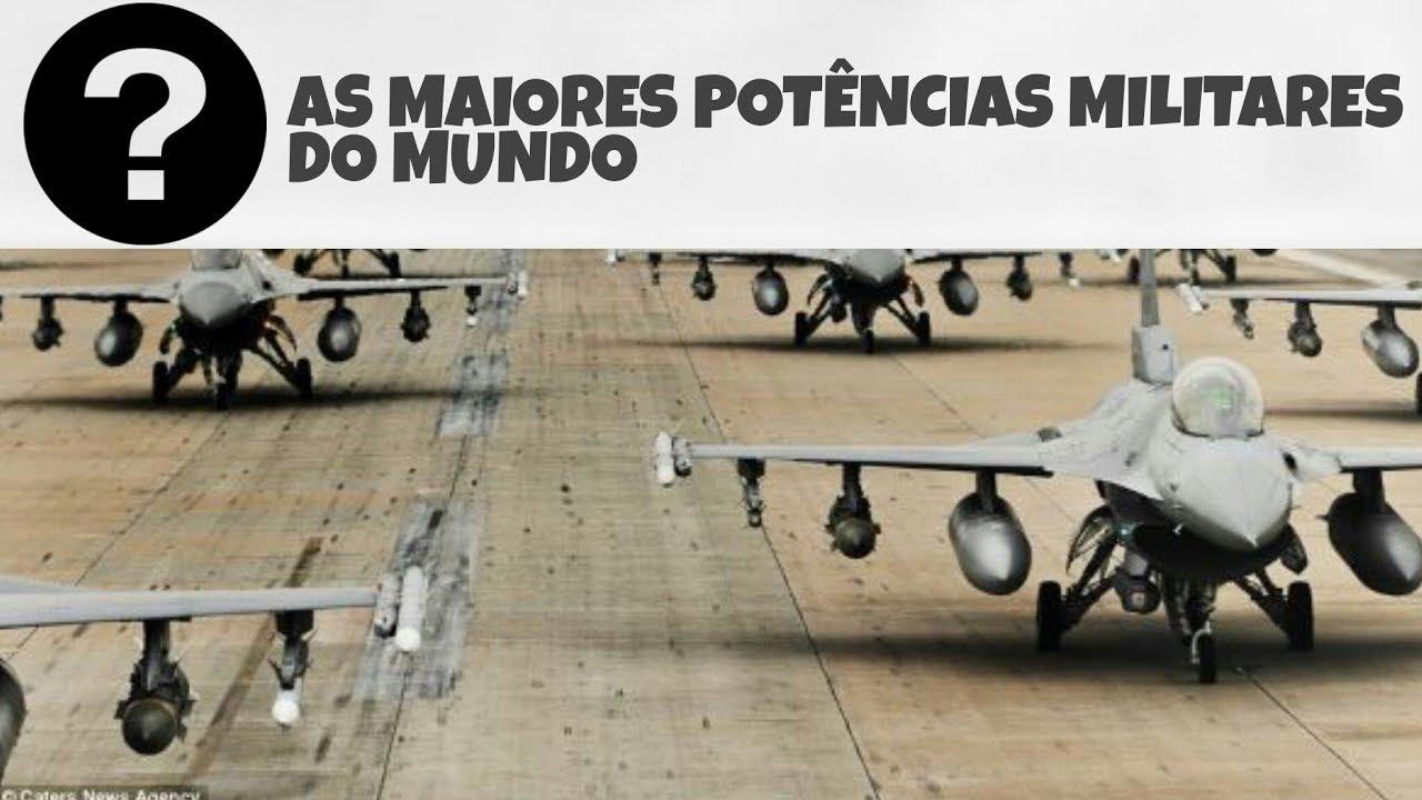 Resultado de imagem para As 10 maiores potências militares de 2018