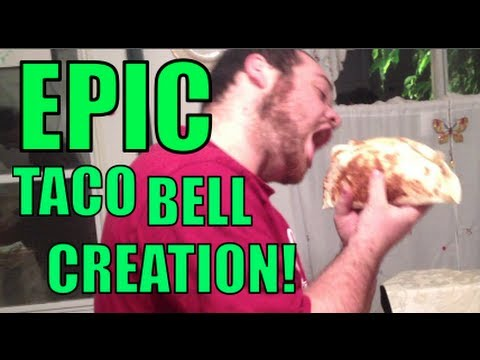EPIC TACO BELL CREATION! | Vlogmas Day 23