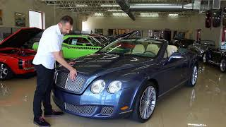 '10 Bentley Continental GTC Speed for sale with test drive, driving sounds, and walk through video