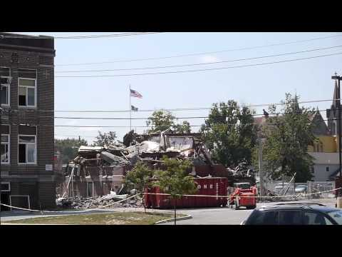 Plymouth High School Demolition High Speed