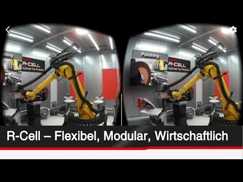 Supfina R-Cell - Flexible solutions for robot supported machining (VR)