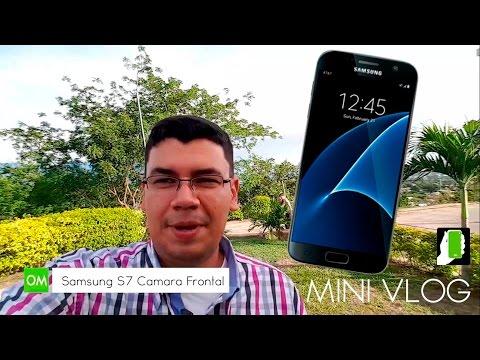 897c1d95b46 SAMSUNG GALAXY S7 Vlog Camara Frontal Y Principal HD - YouTube