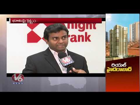 Real Hyderabad: People Shows Interest To Invest In Real Estate Business | V6 News