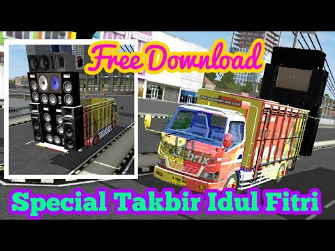 BUSSID Mod Truk Canter Angkut Shound Free Download