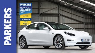 Why the Tesla Model 3 is the 2020 Parkers Car of the Year