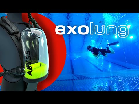 This Exolung promises 'unlimited' air supply underwater