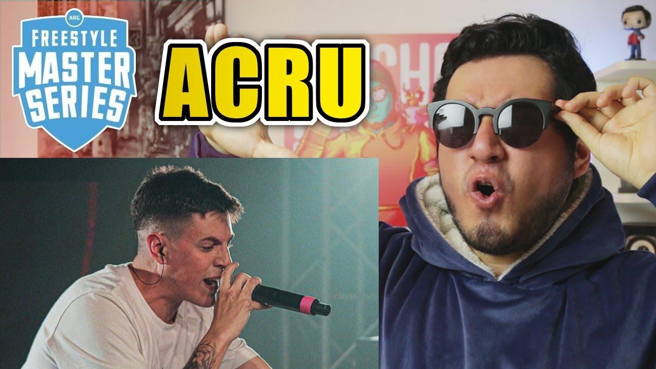 ¿LAS MEJORES TÉCNICAS? | ACRU - Show En FMS ARGENTINA 2020 (Reacción)