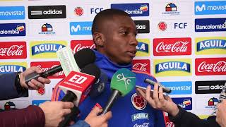 Fabio Delgado, defensa de la Selección Colombia Sub-20