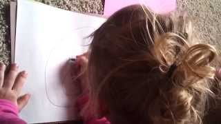 Learn How To Draw Animals-For Preschoolers, Drawing A Bear