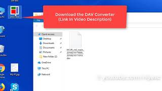 How to Convert DAV file to MP4, AVI, MPG, FLV, etc