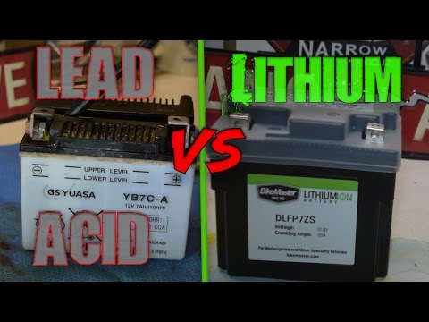 Yamaha TW200 Battery Maintainance or replacing with Lithium Battery