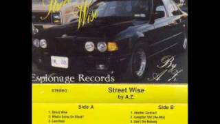 A.Z.(Azie)(MobStyle) - Street Wise (1990)Harlem,Ny) thumbnail