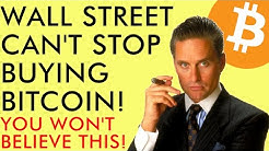 WALL STREET CAN'T STOP BUYING BITCOIN - INSANE DEMAND IN 2020 - You Won't Believe This