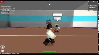 ROBLOX IBA - DanteWhitelX vs Mac, he aint in leagues, just watch video