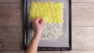 Sieht zwar aus wie Bratkartoffeln aus dem Ofen, werden es aber nicht!