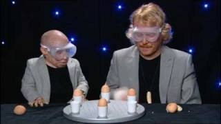 Celebrity Juice: Verne Troyer vs keith Lemon in Raw Egg Roulette