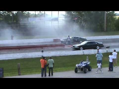 Lincoln Mark Viii Race Youtube