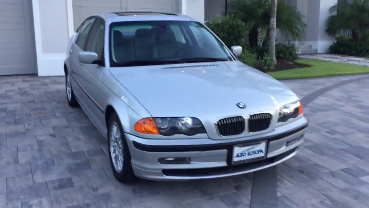 2000 bmw 328i sedan w 33k miles for sale by auto europa. Black Bedroom Furniture Sets. Home Design Ideas
