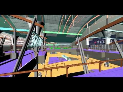 Lloyd Center Mall: Laser Scan to 3D Model