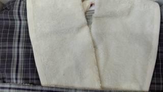 видео облегченный халат из махры JASMIN
