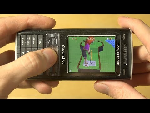 Mini Golf Castles On 2006 Sony Ericsson K800i! Was Mobile Gaming Good 11 Years Ago?!