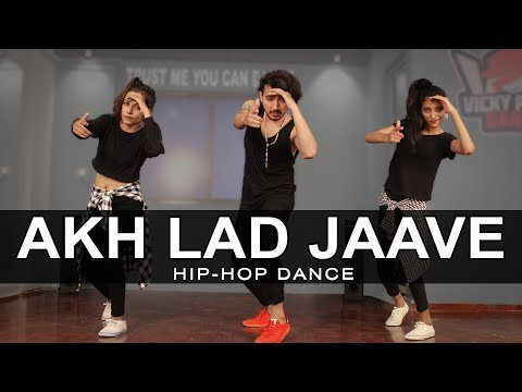 Akh Lad Jaave Dance   Loveratri  Vicky Patel Choreography  Easy Hiphop Steps