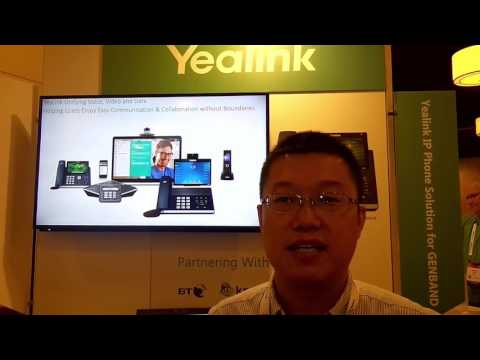 Perspectives17 - Los Angeles: Jeffrey Cao VP Global Key Accounts Yealink Network