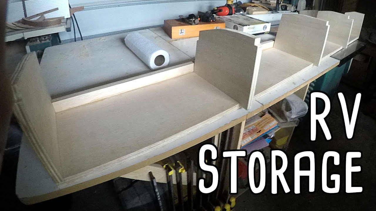 Cargo Van Conversion Murphy Bed Upper Cabinets Part Four