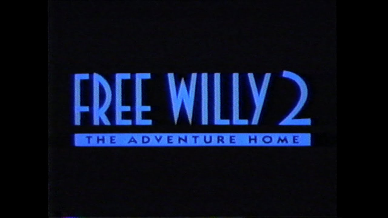 free willy 2 movie trailer vhs 1995 youtube