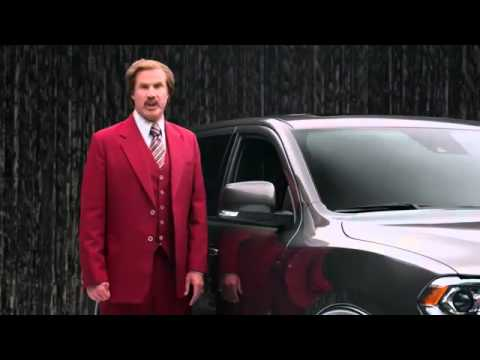 Will Ferrell Dodge Durango Gumball Machine Commercial Ron Burgundy