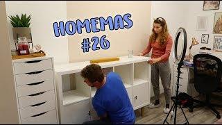 Kész a dolgozószoba is! - HOMEMAS #26 | Viszkok Fruzsi