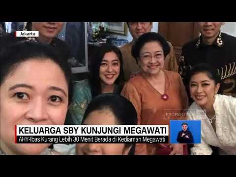 Keluarga SBY Kunjungi Jokowi, Megawati dan BJ Habibie