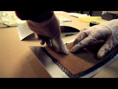 Carbon Fiber Prepreg With Nomex Honeycomb Core (Spacegrade)