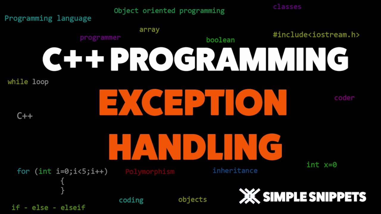 Exception Handling in C++ Programming
